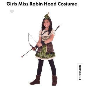 BNWT Miss Robin Hood Halloween Costume